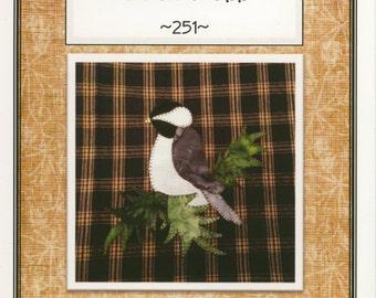 Chick-a-Dee Applique Pattern by Quilt Doodle Designs (QD251)