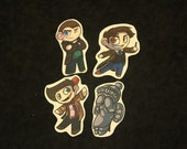 CLEARANCE! Doctor Who Sticker Set (Set of 4)
