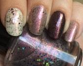 Reverse the Polarity Nail Polish - color shifting cosmic blend