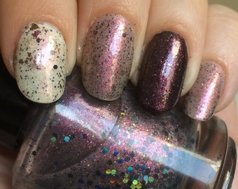 Reverse the Polarity Nail Polish - color shifting cosmic blend