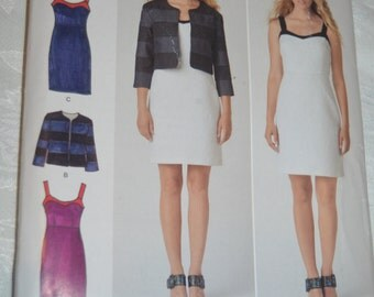 "Simplicity 1688 ""Cynthia Rowley"" Misses Dress and Jacket Sewing Pattern - UNCUT - Size 14 16 18 20 22"