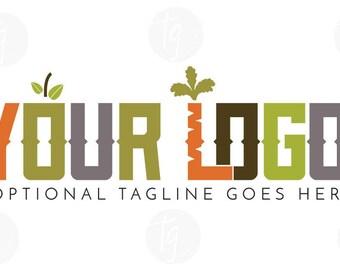 Multicolor logo design // Premade logo design