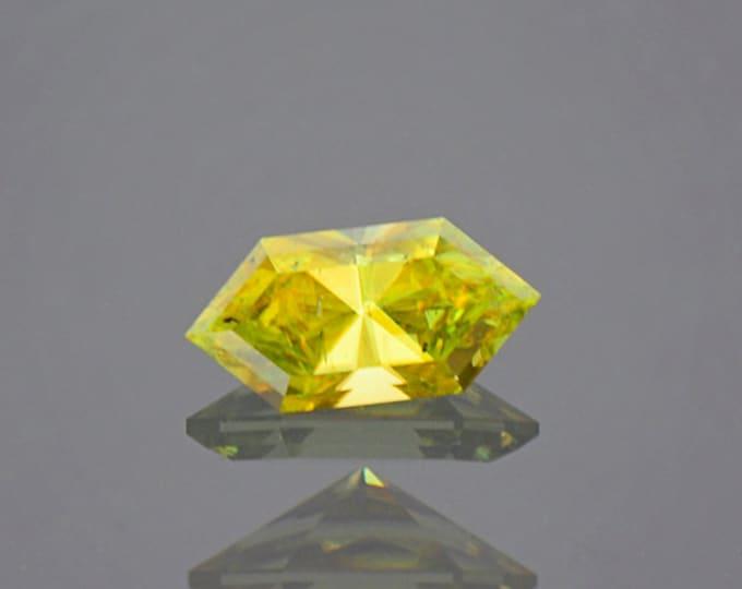 Lovely Yellow Green Sphene Titanite Gemstone from Madagascar 1.22 cts