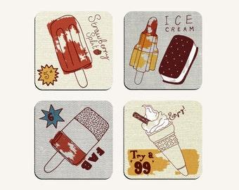 Ice-Cream Coaster Collection