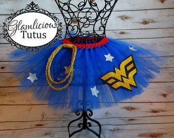 Wonder Women inspired tutu | Super Hero tutu| Adult tutu| Newborn- Adult listing!