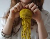 Pattern, Jellyfish Amigurumi, Crochet Baby Mobile, Nursery Decor