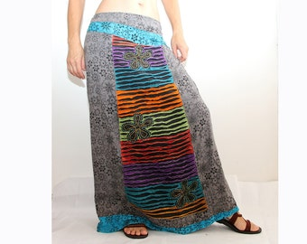 Maxi Cotton Skirt - Assorted colors