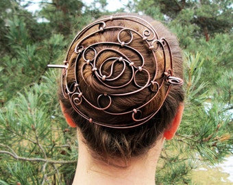 Balance Copper Bun Holder- custom made to fit