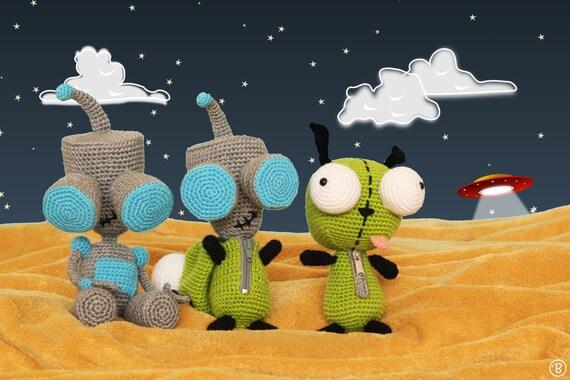 PATTERN: 3 Girs Amigurumi Crochet Pattern Pack