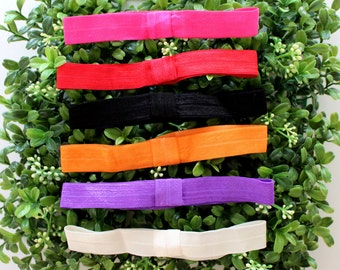 Elastic Headbands, Set of 6 Baby Headbands,DIY Headbands, Toddler Headbands, Headband Set
