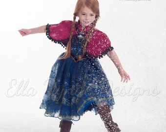 Anna Princess Costume ~ Frozen