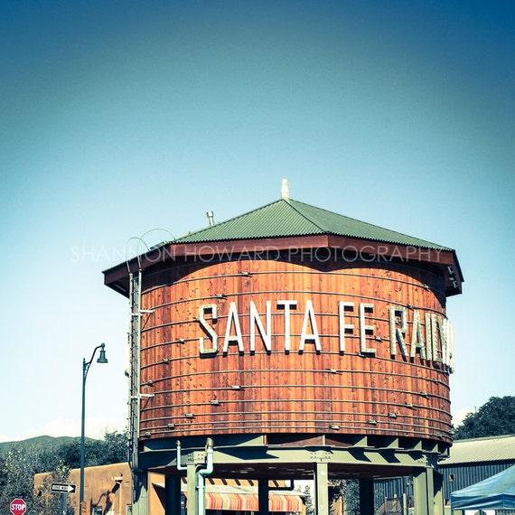 Santa Fe Photography Print Retro Southwestern Railroad New