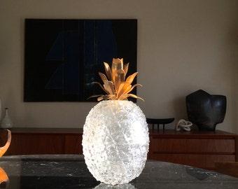 Huge pineapple ice bucket, 1970s