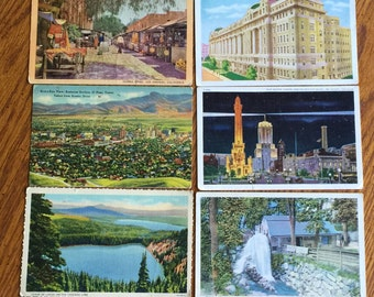 120 ANTIQUE POSTCARDS 1905-1920