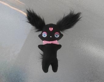 Gothic Bunny Rabbit Plush Softie Kawaii Plushie