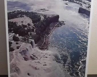 Unopened Sealed Whitman 750 pc  Puzzle Niagara Falls #4656