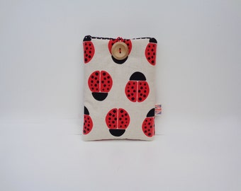 Lady Bird Ebook Cover, Kindle Cover, Nexus Sleeve, Nook Case, Kindle DX, Touch, Kindle 4, 5, 7, Kindle Voyage, Kindle Fire, Paperwhite Cover