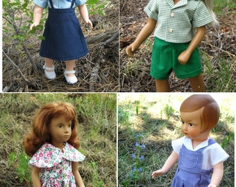 """1950s dresses for 16"""" dolls"""