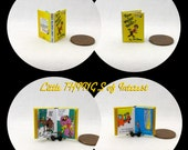 THERE'S A WOCKET In My POCKET Dollhouse Miniature Book 1:12 Scale Dr. Seuss Book