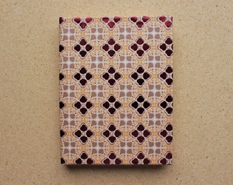 Handmade hardcover blank sketchbook