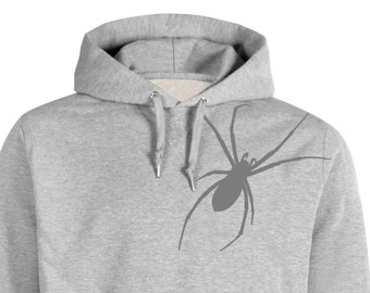 Velour Iron On Applique SPIDER