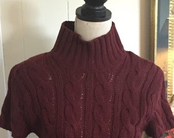 Vintage Banana Republic Short Sleeve Sweater ... Free Shipping