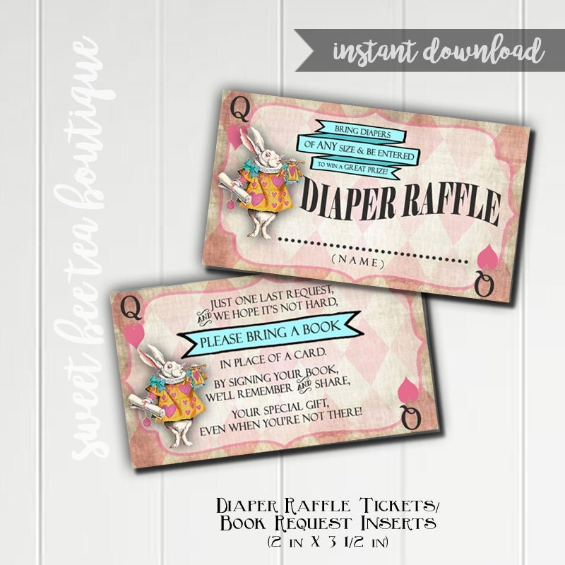 Alice In Wonderland Baby Shower Invitations – sweetkingdom.co