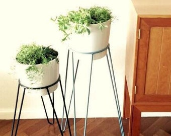 wall mounted plant stand by modcraftaustralia on etsy. Black Bedroom Furniture Sets. Home Design Ideas