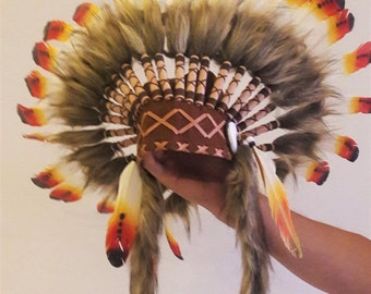 PRICE REDUCED - K02 For 0 to 9 months  Baby / Newborn : Three colors Headdress for the little ones !