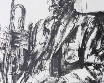 New Orleans Dixieland Band Musicians Signed Burke 1975 Dixieland Raymond Burke