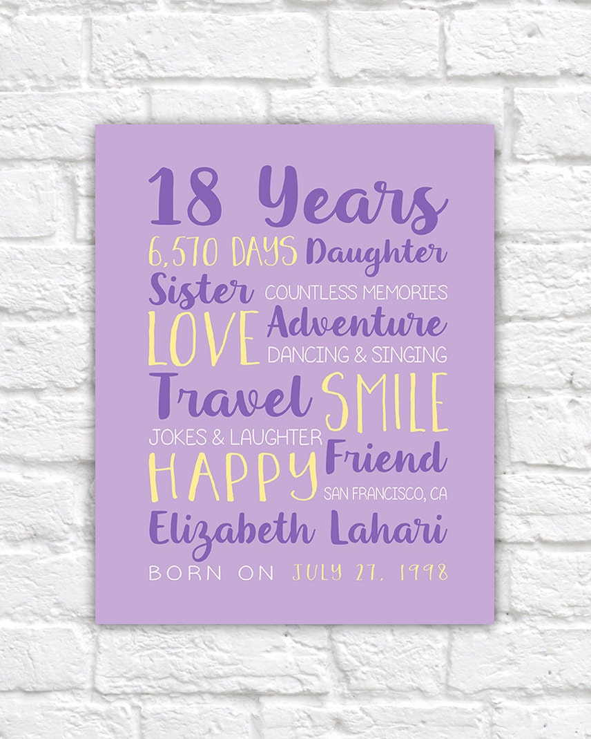 Birthday Quotes For Daughter Turning 18: 18th Birthday Gift For Friend Best Friends Birthday