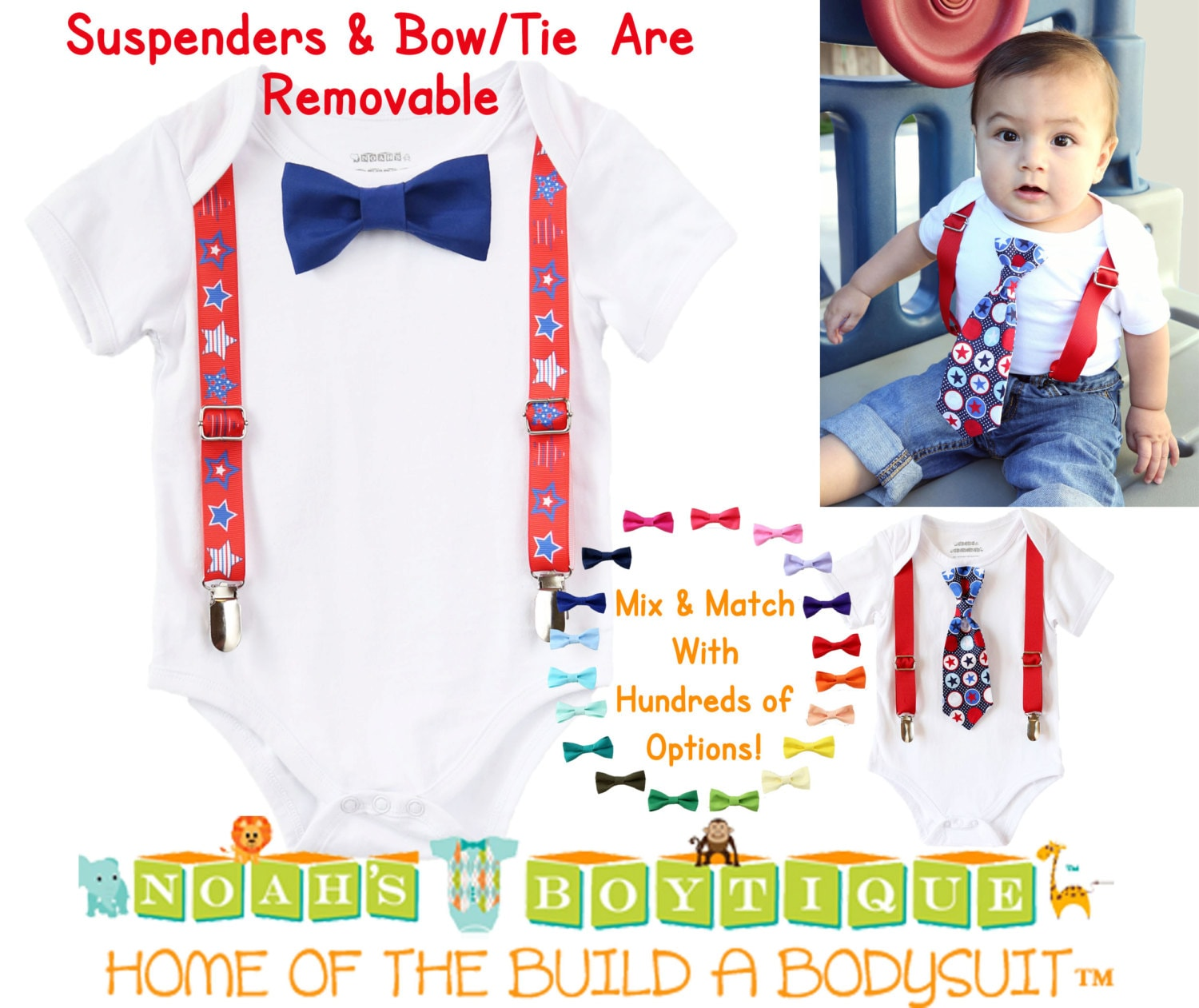 May The Fourth Be With You Baby Clothes: July 4th Baby Boy Outfit Fourth Of July Boy Clothes