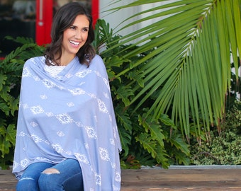 Desert Moon Nursing Poncho / Doubles as a Carseat Cover / Full Coverage Nursing Cover
