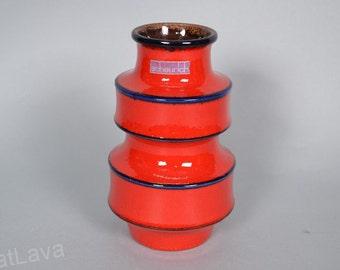 Stunning Scheurich West German pottery vase  267-20