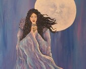 Moon Goddess Praying Hand...