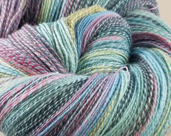 Polwarth Silk handspun sport weight yarn