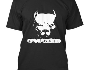 PITBULL American Pit Bull Spiked Dog Collar - Pitbull Lover Mens T-Shirt