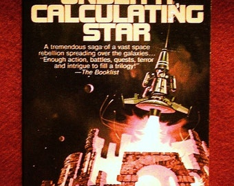 Under a Calculating Star: A Novel of the Future by John Morressy 1978, Popular Library Vintage SciFi Adventure Paperback Book 1st Print