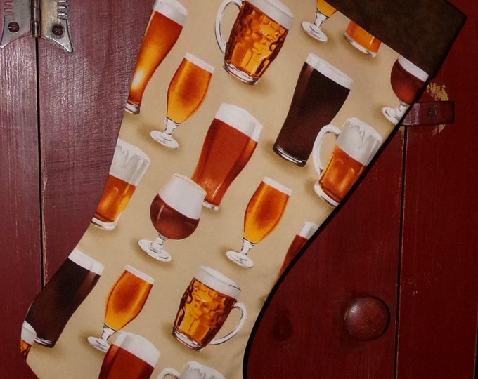 Beer Christmas Stocking