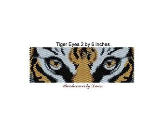 Peyote Bracelet Patterns, Beading Instructions, Tiger eye peyote, Tiger Eyes, Bead Patterns, Beadwork Patterns, Peyote Stitch patterns