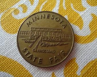 Minnesota State Fair Grandstand Good Luck Pocket Piece
