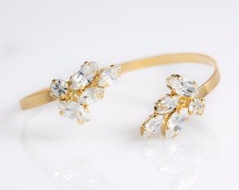 Bridal Bracelet, wedding Bracelet , Bride Bracelet, Bridal arm Bracelet,  arm Bracelet, Vintage Bracelet, Bridesmaid Bracelet