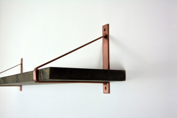 Pair Of Copper Steel Brackets Newest Design By