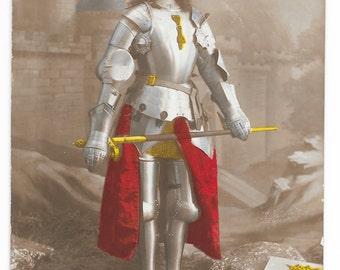 Joan of Arc Photo Postcard, 1916