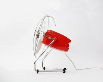 Vintage Desk Fan // Small Electric Table Fan