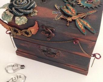 Toy box treasures-box set-Steampunk-Treasures-jewellery