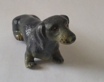 Vintage Dachshund dog 1988 New-ray Novelty figurine