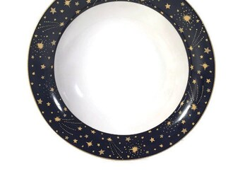 Vitromaster Galaxy Soup Bowl - Galaxy Cereal Bowl - Stoneware Bowl 1993 Replacement Dishes