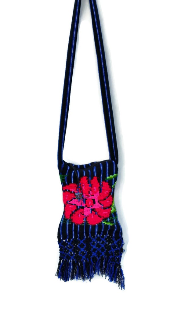 Mexican purse embroidered by