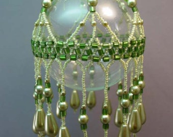 Olivine Cleopira Beaded Ornament Kit